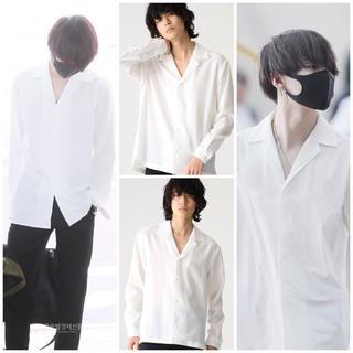 LAD MUSICIAN - 【新品★早い者勝ち】STUDIOS オープンカラーシャツ