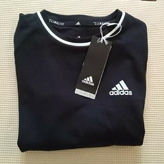 adidas - 新品タグ付き ☆ アディダス 長袖 Tシャツ 140 ブラック ☆