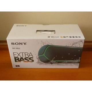 SONY - SONY SRS-XB22 G ワイヤレスポータブルスピーカー