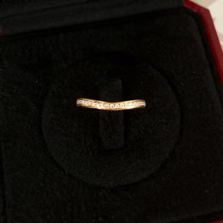 カルティエ(Cartier)のカルティエ バレリーナ カーブ エタニティ 8号(リング(指輪))
