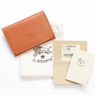IL BISONTE - 新品 イルビゾンテ カードケース 名刺入れ レザー ケース じゃばら ヤキヌメ