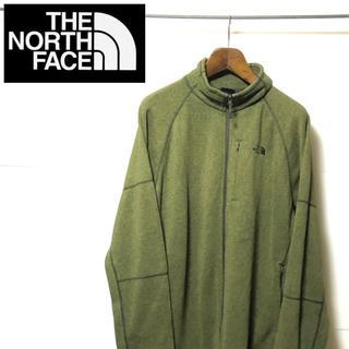 ザノースフェイス(THE NORTH FACE)のNORTH FACE ノースフェイス ロゴ ジップアップ フリース(その他)