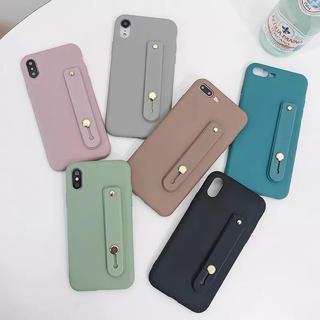 iPhone - 新品★ベルト付iPhoneケース 6/7/8/x/xs/XR/7,8Plus/他