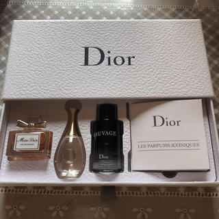 Dior - ディオール フレグランス ディスカバリー セット