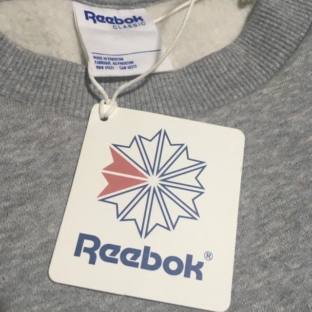 Reebok(リーボック)のReebok スウェット レディースのトップス(トレーナー/スウェット)の商品写真