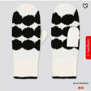 マリメッコ(marimekko)のUNIQLO x Marimekko  ヒートテック レディース手袋(手袋)