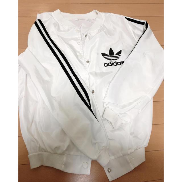adidas(アディダス)のアディダス 風 ジャンパー ウェア レディースのジャケット/アウター(ナイロンジャケット)の商品写真