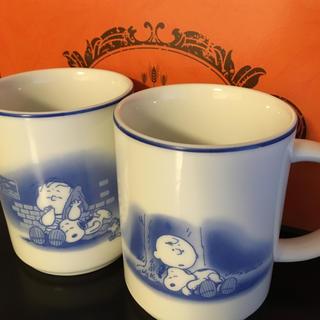 スヌーピー(SNOOPY)のスヌーピーマグカップ2個セット(マグカップ)