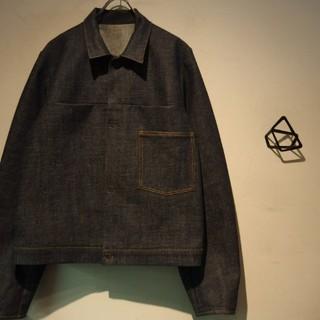 サンシー(SUNSEA)のsunsea denim jacket first type indigo(Gジャン/デニムジャケット)