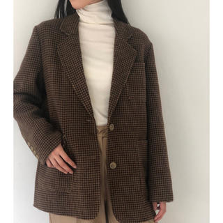 TODAYFUL - TODAYFUL新作完売 Wool Check Jacketウールジャケット36