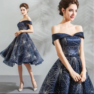 カラードレス ミニドレス 花嫁 パーティードレス XS(ウェディングドレス)