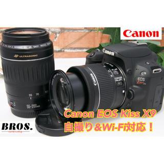 Canon - ❤️超極上、Wi-Fi可❤️Canon キャノン EOS Kiss X9