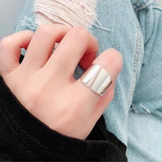 925銀製品✨鏡面仕上げ✨指輪/リング🌈アレルギー対応💖韓国人気アクセサリー(リング(指輪))