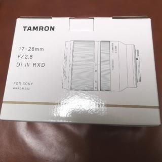 TAMRON - TAMRON タムロン 17-28mm F2.8 ソニー Eマウント用