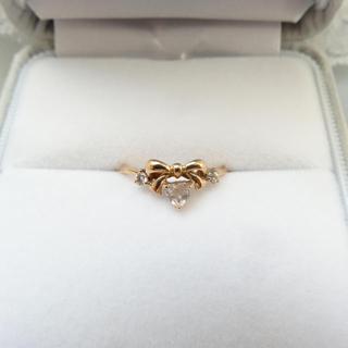 サマンサティアラ(Samantha Tiara)のサマンサティアラ  リング K18 ピンクゴールド (リング(指輪))