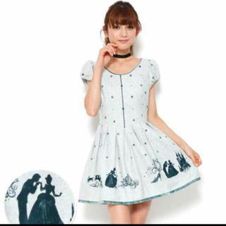 シークレットハニー(Secret Honey)のSecret Honey♡ シンデレラコラボ♡ワンピース ♡ディズニー(ミニワンピース)