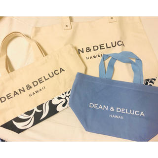 ディーンアンドデルーカ(DEAN & DELUCA)のDean&Deluca ハワイ限定トートバッグ 3点セット(トートバッグ)