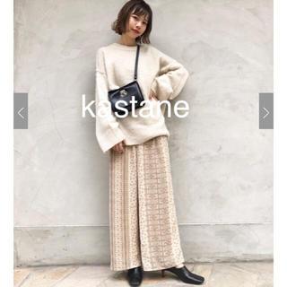 Kastane - 今季♡カスタネ♡パネル柄パンツ♡エクリュ