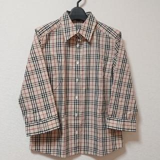 BURBERRY - 【美品】BURBERRY レディースシャツ 40 ノバチェック