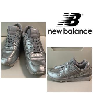 New Balance - ニューバランス 996 シルバーレザー