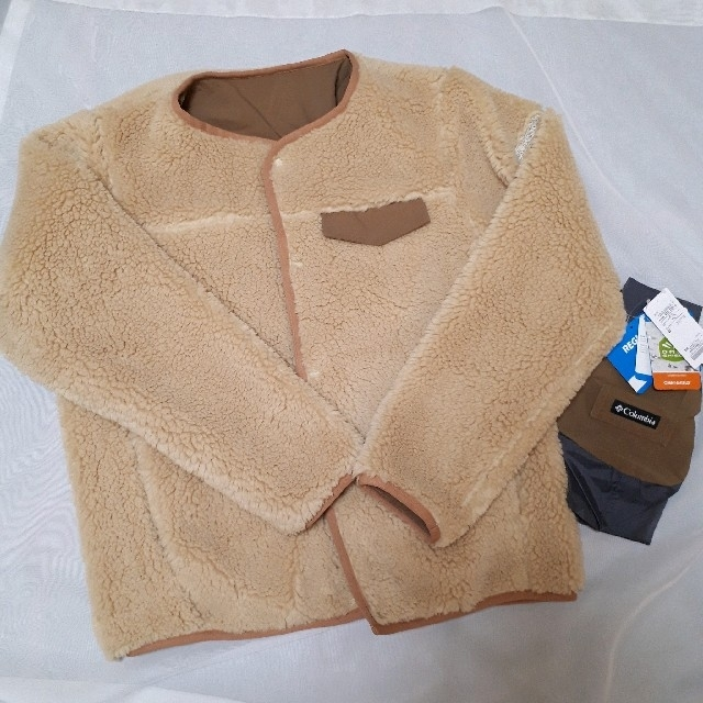 SHIPS(シップス)のYumiさま COLUMBIA:【SHIPS別注】リバーシブルボアジャケット レディースのジャケット/アウター(ブルゾン)の商品写真
