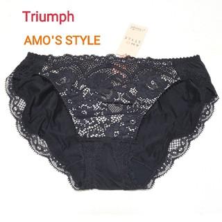 AMO'S STYLE - トリンプ AMO'S STYLE クラシックレースショーツ 黒 M