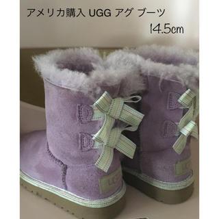 アグ(UGG)のアメリカNY購入 UGG アグ ブーツ ラベンダーカラー 14.5cm(ブーツ)