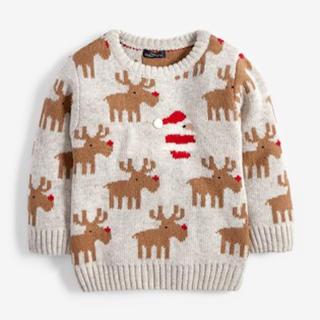 ネクスト(NEXT)の即購入🆗❣️ネクスト クリスマスセーター 80 85(ニット/セーター)