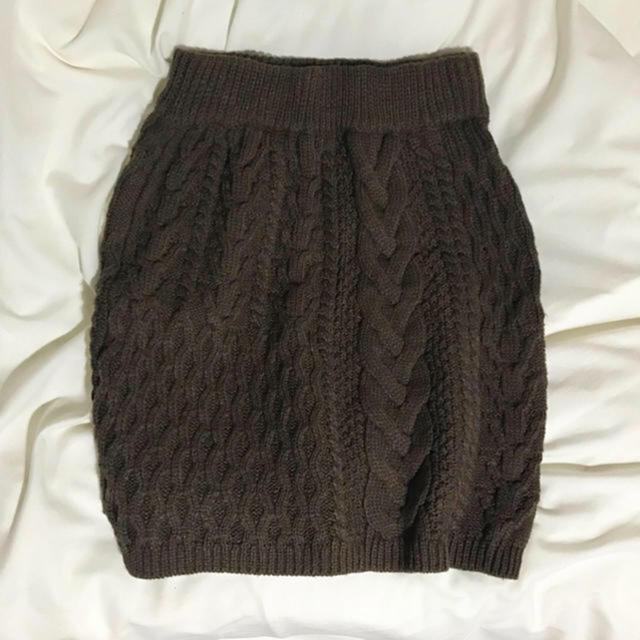 Lochie(ロキエ)のニットスカート レディースのスカート(ミニスカート)の商品写真