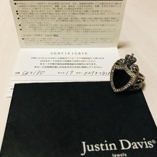 ジャスティンデイビス(Justin Davis)のJustin Davis ヘリテージリング(リング(指輪))