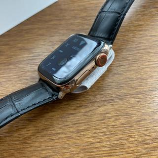Apple - 【ケア有り】Apple Watch Series 4 セルラーモデル 40mm