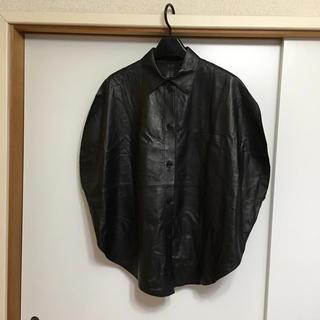 エムエムシックス(MM6)の円形 レザーシャツ MM6(シャツ/ブラウス(半袖/袖なし))