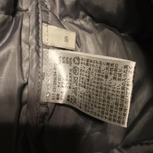 GU(ジーユー)のジーユーGU ⭐️ダウンジャケットMENS⭐️S 黒 メンズのジャケット/アウター(ダウンジャケット)の商品写真