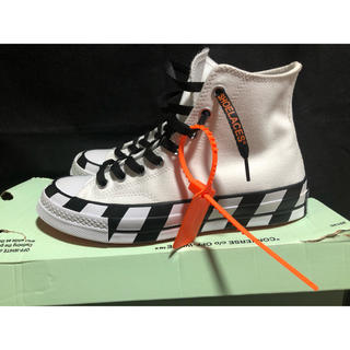 OFF-WHITE - off-white converse Chuck 70 コンバースオールスター