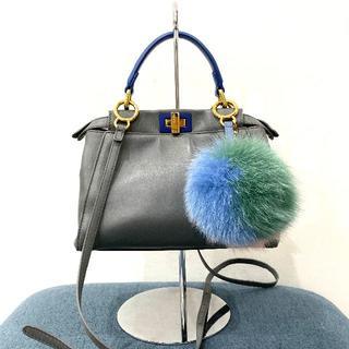 FENDI - 美品 フェンディ ミニピーカブー 2wayバッグ バイカラー
