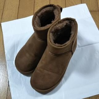 ボアブーツ  茶色(ブーツ)