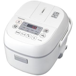 東芝 - RC-5MFM-W 炊飯器 ホワイト [3合 /マイコン]