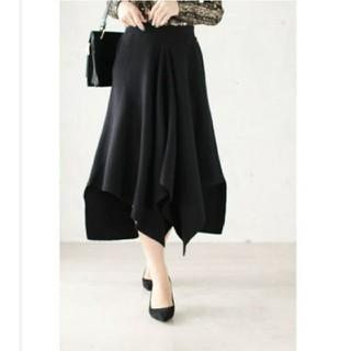 cawaii - *新品* cawaii アシンメトリー裾のニットスカート