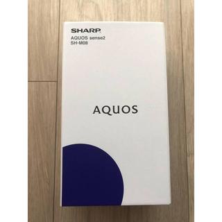 SHARP - SHARP AQUOS sense2 SH-M08 ニュアンスブラック