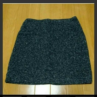 モルガン(MORGAN)の【MORGAN】ツイードスカート(ミニスカート)