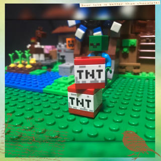 MICRALITE - LEGO マイクラ TNT 2piece