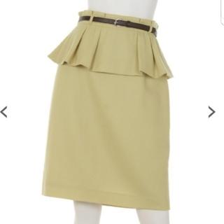 JUSGLITTY - ジャスグリッティー♡ペプラムベルト付タイトスカート
