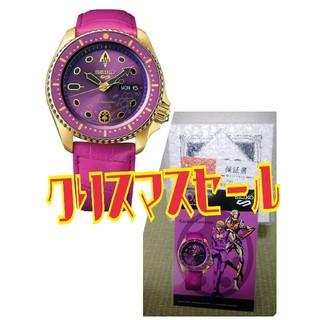 セイコー(SEIKO)の【週末×クリスマス】セイコー5 ジョジョ ジョルノ・ジョバァーナ SBSA036(腕時計(アナログ))