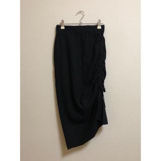 ミックスエックスミックス(mixxmix)のmixxmix ニットスカート(ひざ丈スカート)