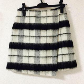シャギー スカート