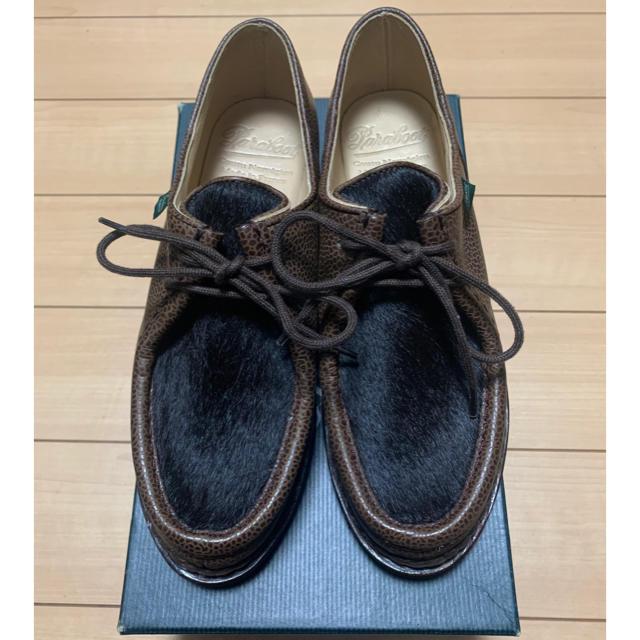 Paraboot(パラブーツ)の未使用 新品 パラブーツ レディース ミカエル サイズ 4 1/2 レディースの靴/シューズ(ローファー/革靴)の商品写真