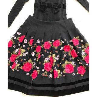 M'S GRACY - エムズグレーシー(3)花柄スカート  40 サイズ 美品