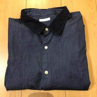 GU - デニムシャツ Lサイズ
