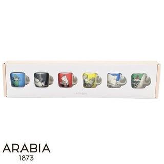 ARABIA - 【新品】アラビア ムーミン ミニマグ6pセット