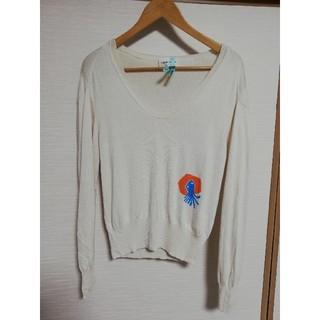 【TSUMORI CHISATO】カシミヤ混シルクニット セーター